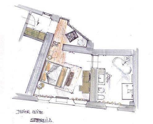 Relais Villa Del Borgo - Junior Suite Stervia