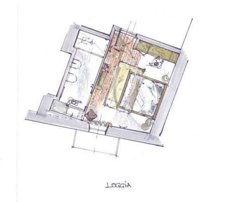 Relais Villa Del Borgo - Loggia