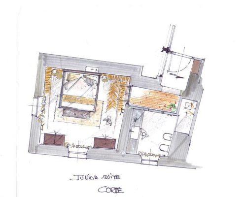 Relais Villa Del Borgo - Junior Suite Corte