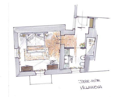 Relais Villa Del Borgo - Junior Suite Villanova