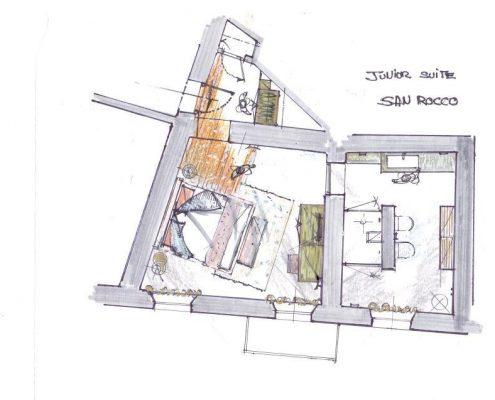Relais Villa Del Borgo - Junior Suite San Rocco